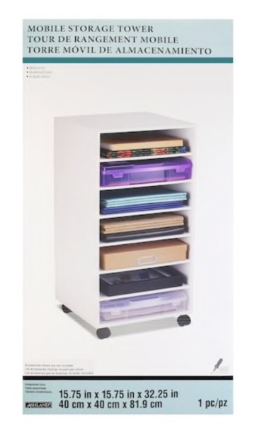 Mobile Storage Tower By Ashland